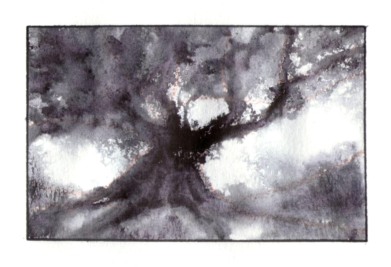 Inktober 2019 Ancient trees Series 2