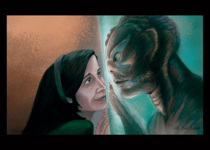 The Shape of Water digital colour