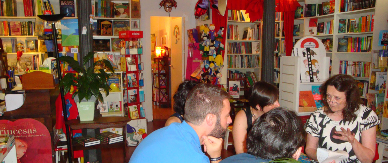 SCBWI Spain Critique Group at El Dragón Lector Bookstore